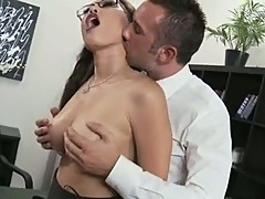 Whore Miko Lee interviews this prick with her titties
