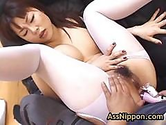 Slut Rei Himekawa Gets Anus Fucked With Toy 5 By Assnippon