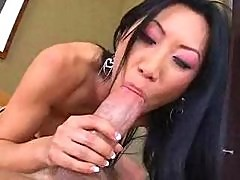 Tia Ling Sucks Fucks And Get It Up Her Ass