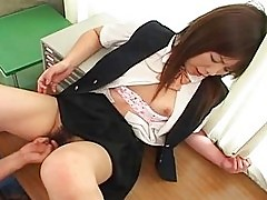 Sexy Japanese girl Yuki Hirai fucked in school