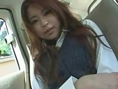 Asian first blowjob