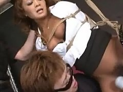 Japanese Bondage Sex - BDSM Punishment of Asuka