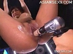 Moe ohishi fucking machines japanese slut enjoys her toys a
