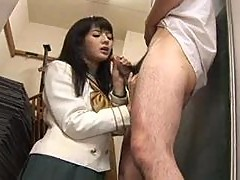 japanese girl and good hand job