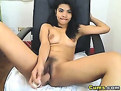 Full Bush Asian Pussy HD