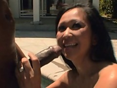 Asian Kitty get Some BBC in her Ass