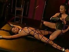 Asisn Slave And Asian Mistress Gets Down To Some Abusive Bondage