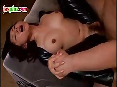 Slutty Asian Submissive Gets Strung Up And Tortured In Her Hairy Twat