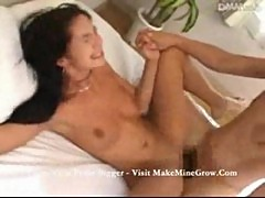 Hot latina girl fucks an asian dude