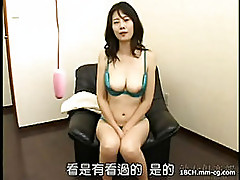 Jap milf bj and toy playing