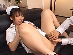 Ai Sayama nice-looking Asian Nurse shows off
