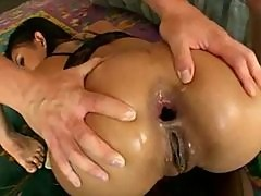 Asian anal pounding