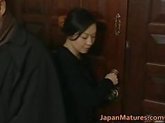Japanese Mature Lady Is In For Some Hot