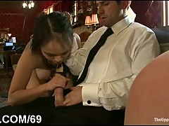Fighting girls get punished and ass fucked