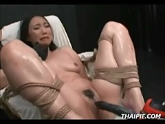 Asian Made To Cum With Power Tools