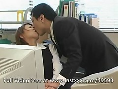 Hot Japanese office sex