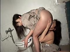 Japanese Women In Prison Get Down To Some Hot Pussy Licking