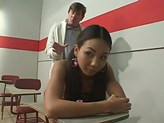 Keeani Lei fucking with her teacher in cl ...