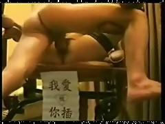 Taiwanese amateur black stocking girl