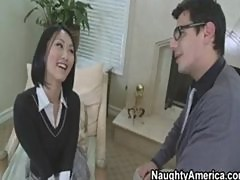 Hot Asian School Fucks Her Teacher
