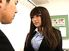 Kirara Kurokawa naughty teacher gets naked and fucks in class