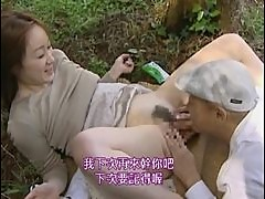 Horny Asian Couple Recreate a Vintage Outdoor Fuck