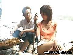 Arisa Kanno Hot Asian Babe Gets Hot Part6