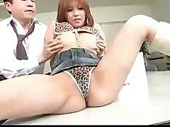 Japanese Gal Arisa Likes To Play With Toys And A Hard Cock