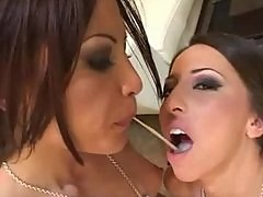 Jayna Oso And Friend Blow Cock